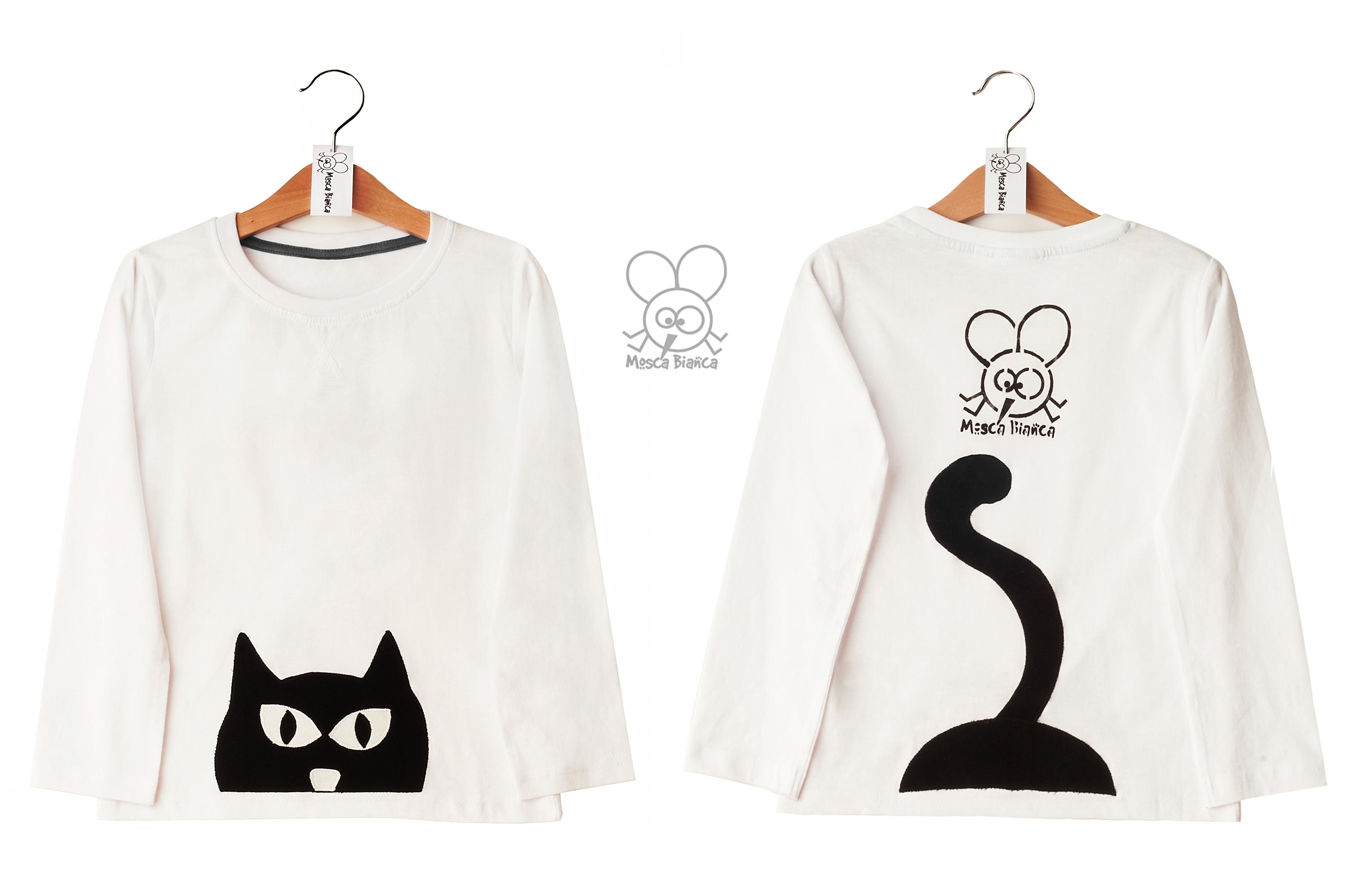 composizione maglia gatto