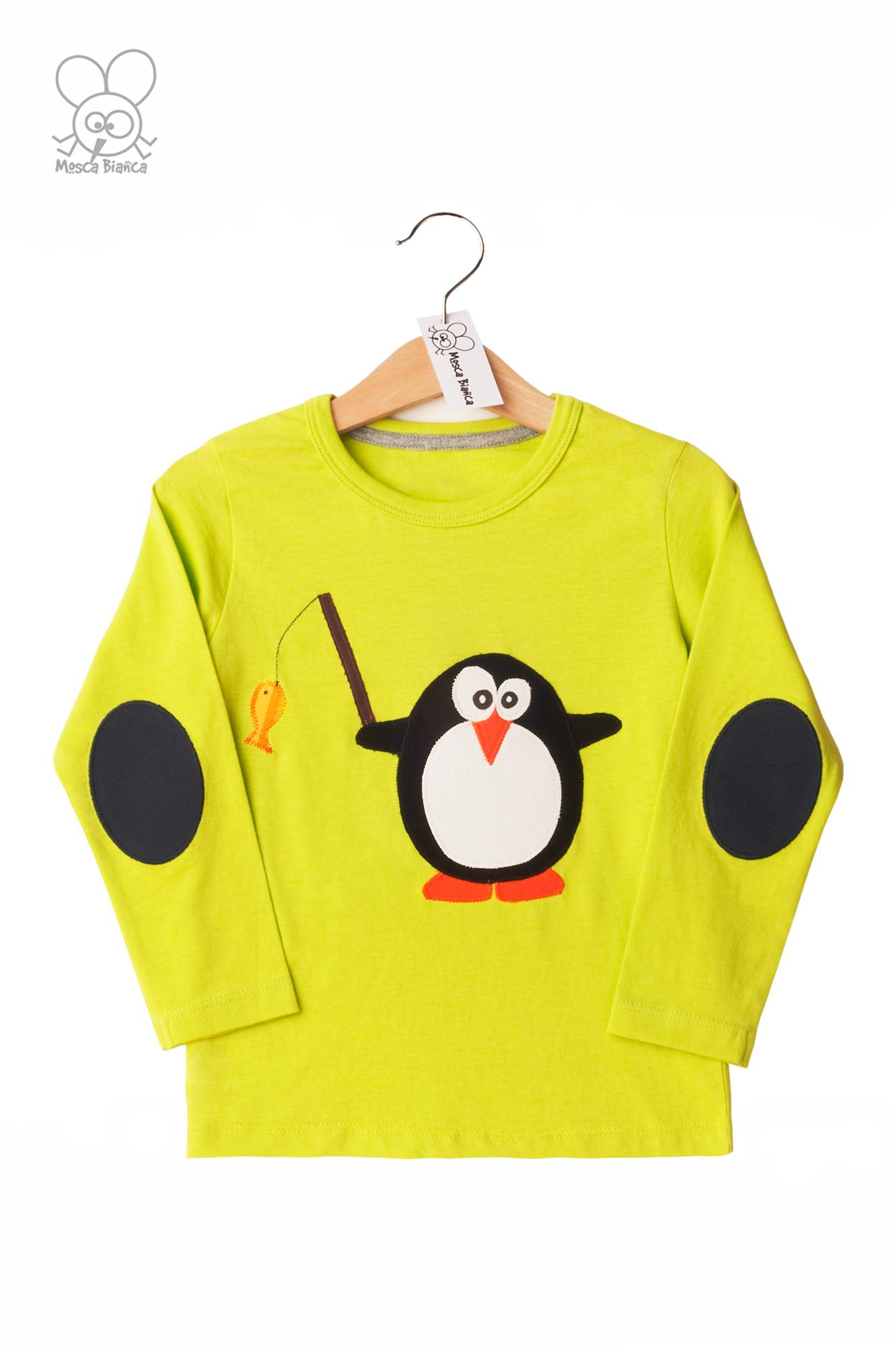maglia pinguino